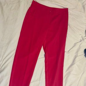 Primark Hot Pink Work Pants